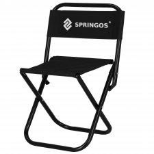 SPRINGOS Turistická kempingová stolička skladacia