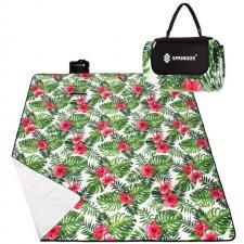 SPRINGOS Pikniková deka 300x200 - exotické rastliny