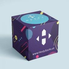 Neon - darčekový box pre veselé ponožky - Univerzál