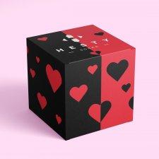 Srdiečko – darčekový box pre veselé ponožky - Univerzál