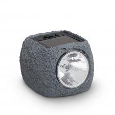 LED solárna lampa kameň