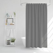 Záves do sprchy - sivý - 178 x 183 cm