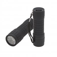 LED baterka - 9 LED - 9,5 cm