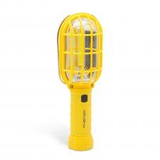 Retro montážna lampa s alarmovým svetlom