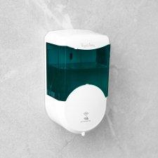 Automatický dávkovač mydla - 600 ml - na stenu - na batérie - dymová farba