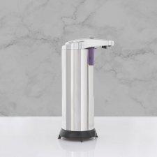 Automatický dávkovač mydla - 220 ml - voľne stojací - na batérie - chrómová