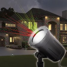 Laserový projektor so zapichovacím tŕňom