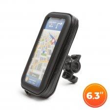 Taška na mobilný telefón na bicykle  - s dotykovou plochou - do 6,3