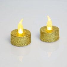 LED čajová sviečka DARČEKOVÉ BATÉRIE