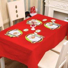 Podložka pod tanier a pohár - mikuláš - 8 ks / balenie