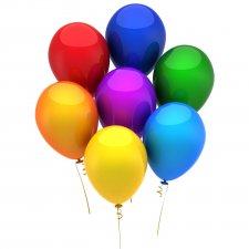 Sada balónov