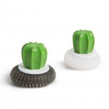 Sada drôteniek - 2 ks - kaktus - 8,5 x 8 cm