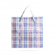 Klasická veľká nákupná taška - plast - 68 x 64 x 26 cm