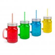 Sklenený pohár - džbán