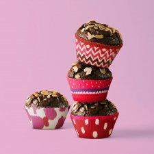 Sada muffin foriem - srdiečka - 100 ks / balenie