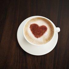 Šablóna na zdobenie kávy