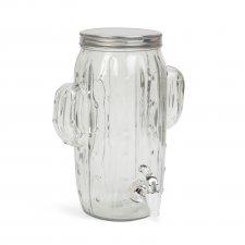 Dávkovač nápojov s kohútikom, sklo  -