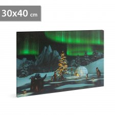 LED obrázok na stenu -
