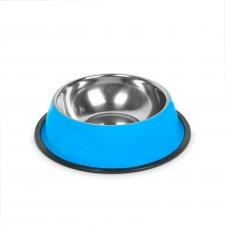 Miska pre psy - 15 cm - modrá