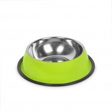Miska pre psy - 15 cm - zelená