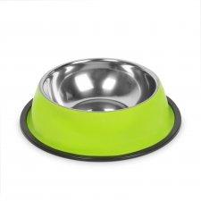 Miska pre psy - 18 cm - zelená