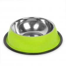 Miska pre psy - 22 cm - zelená