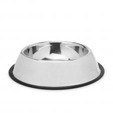 Miska pre psy - 18 cm - chrómová