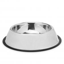 Miska pre psy - 22 cm - chrómová