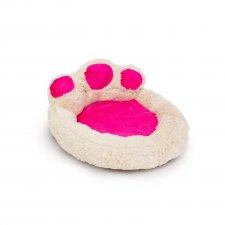 Pelech pre psy  v tvare labky - veľkosť S