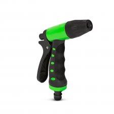 Striekacia pištoľ - s nastaviteľným vodným lúčom - zelená