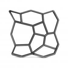Plastové dlaždicové šablóny - kamenný vzor - 50 x 50 x 4,5 cm