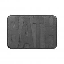 "Rohožka do kúpelne - ""BATH"" - sivá - 60 x 40 cm"