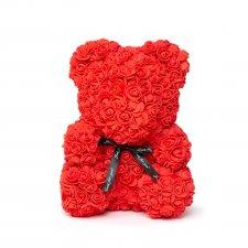 Macík z ruží - Červený - 40 cm