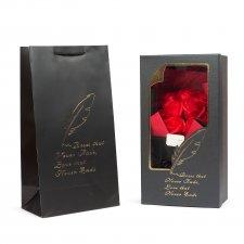 Box z ruží - 11 ks červených ruží