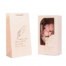 Box z ruží - 11 ks - ružové ruže