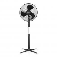 Stojanový ventilátor - Ø38 cm - čierny