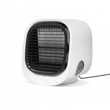 Prenosný mini chladič vzduchu - USB - biela