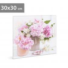 "LED obraz - "" Kvety"" - 2 x AA, 30 x 30 cm"