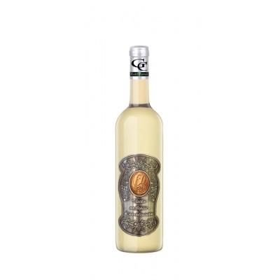 60 Rokov Darčekové víno Biele Kovová etiketa