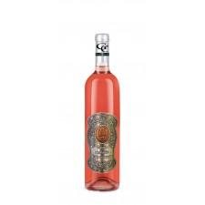 18 rokov Darčekové víno ružové - kovová etiketa