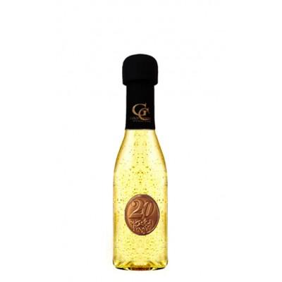 Zlaté šumivé 0,2 l Gold Cuvee Kovová etiketa 20