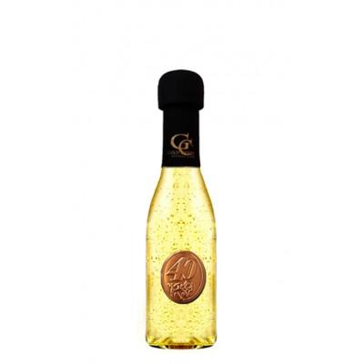 Zlaté šumivé 0,2 l Gold Cuvee Kovová etiketa 40