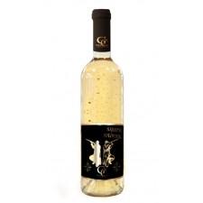0,7 L Gold Cuvee - Biele so zlatými lupenmi 23 karát - Najlepší POĽOVNÍK