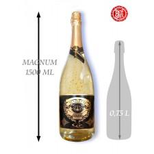 1,5  L Gold Cuvee šumivé víno so zlatom Najlepší hasič