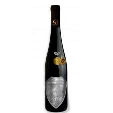 Svadobné darčekové víno červené Renana Kovová etiketa