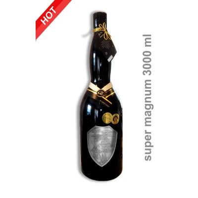 3000ml  svadobné darčekové víno červené super magnum