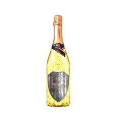 Svadobné Zlaté šumivé 0,75 l kovová etiketa