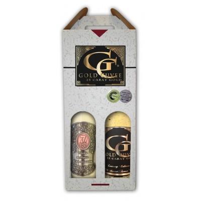 Darčekový vínny  set 2 fl.  S vekom 70 rokov
