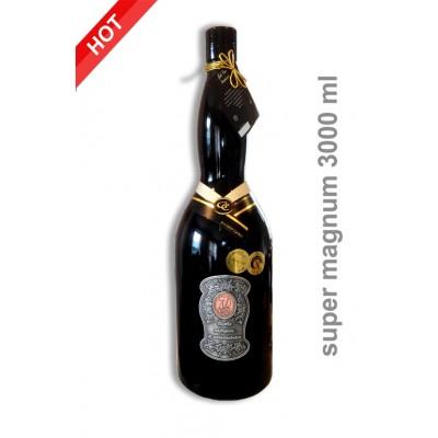 3000ml  Darčekové víno červené 70 rokov super magnum