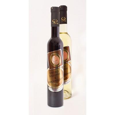 (0-80) rokov  Darčekové víno - Kovová Etiketa Irsai Oliver s 23 karát. zlatom